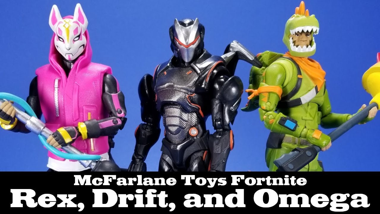 Fortnite rex drift and omega mcfarlane toys epic games action figure review youtube - Rex from fortnite ...