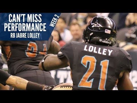 Can't Miss Performance: Jabre Lolley - Week 2