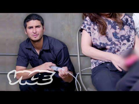 Making Fake Jizz for a Porn Video | 24 Hour Intern