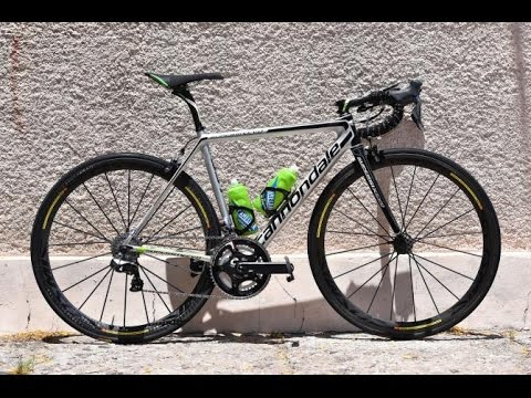 2016 Andrew Talansky Cannondale Super Six EVO Hi-MOD Team edition