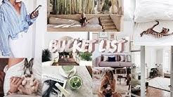 Meine Bucket List - Ziele&Träume // Ausprobieren&Wegradieren