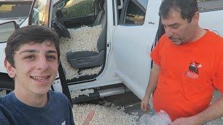 PACKING PEANUTS IN CAR PRANK!! | FaZe Rug