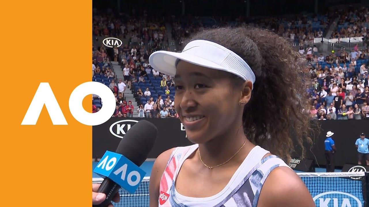 Naomi Osaka On Court Interview 1r Australian Open 2020