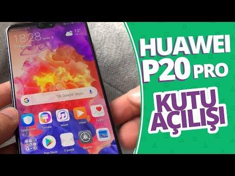3 Kameralı Huawei P20 Pro kutusundan çıkıyor!