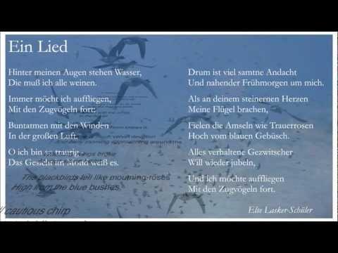 Luca Lombardi ... Ein Lied (1988) Text: Else Lasker-Schüler