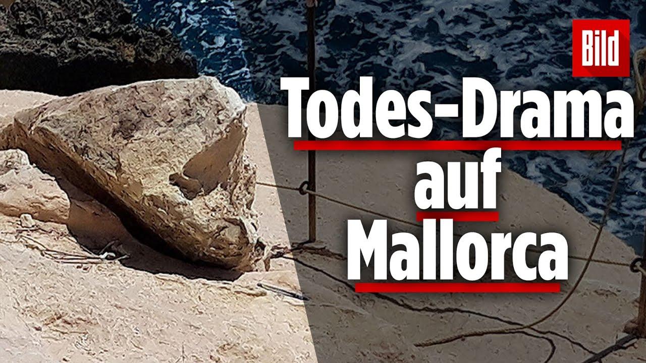 Mallorca: Frau vom Fels erschlagen, auf dem sie vorher saß!