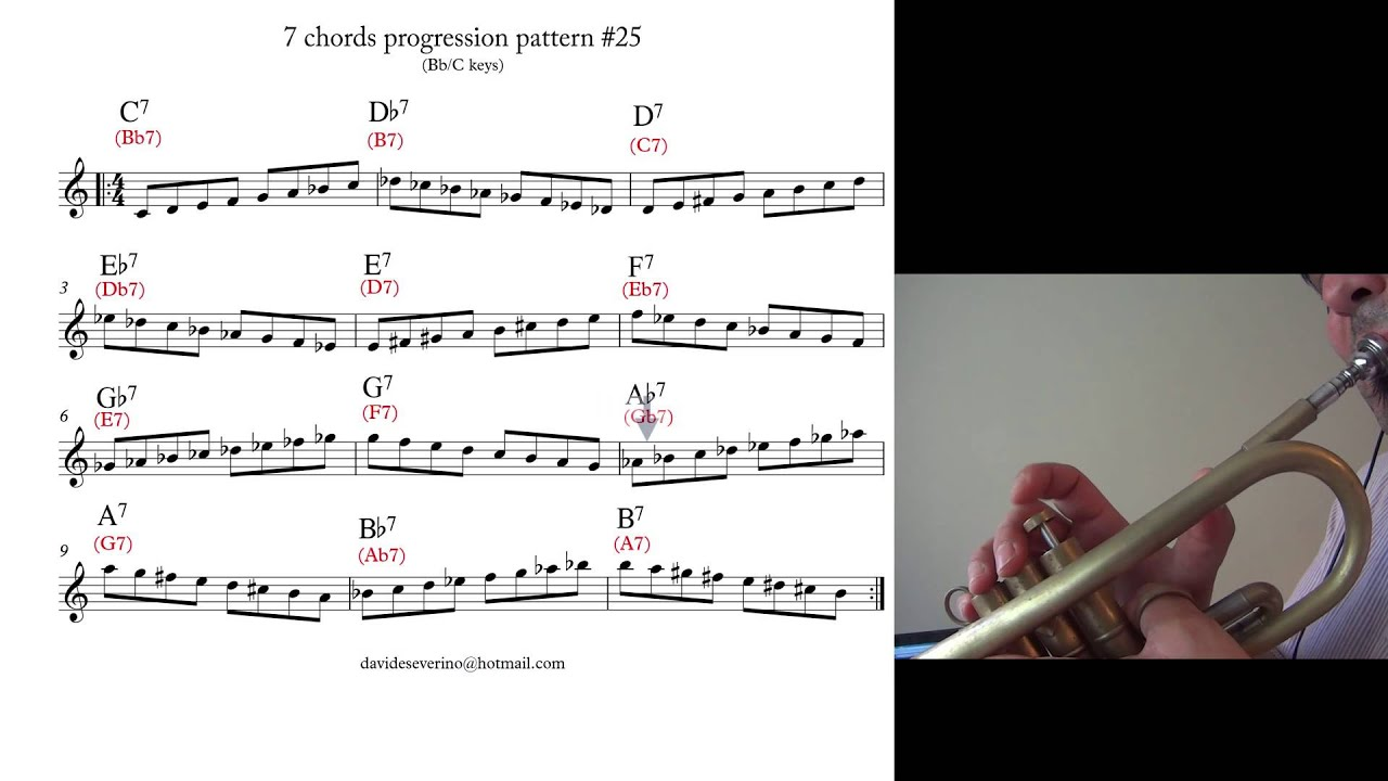 Writing a trumpet solo and having problems?