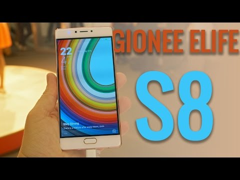 Gionee Elife S8 hands-on at the MWC 2016