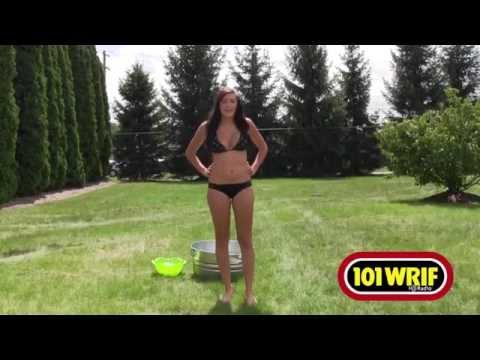 WRIF Rock Girl Does The Ice Bucket Challenge