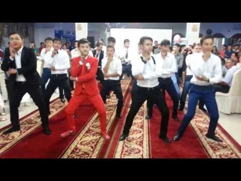 Абылайхан-Акбота Флешмоб на Свадьбе 23.08.13!!! жезказган