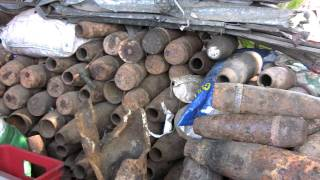 Scrap Metal Collectors in Vietnam - A Dangerous Way to Earn Money
