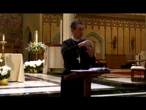 Bishop's Lunchtime Lecture on the Sacrament of Penance (Part 1) - May 8, 2014