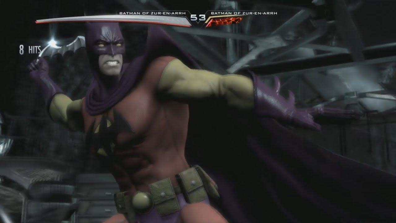 Injustice Gods Among Us Batman New 52 Costume Gameplay