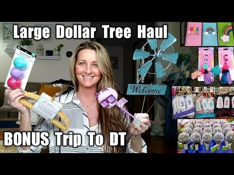 Large Dollar Tree Haul | Bonus Trip To The DT| New Finds/ March 12