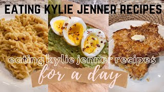 I ate Kylie Jenner recipes for an entire day