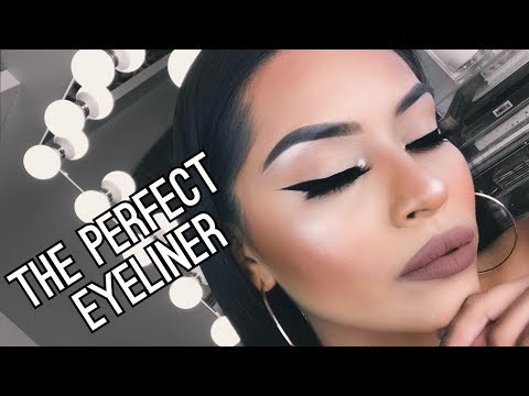 HOW TO DO THE PERFECT WINGED LINER | SARAHY DELAROSA