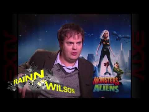 Monsters Vs Aliens Cast Interview Youtube