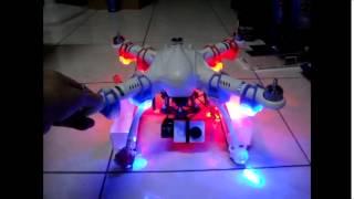 小蟻運動攝影機安裝在freex的雲台上測試