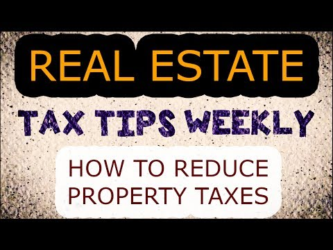 How To Reduce Property Taxes