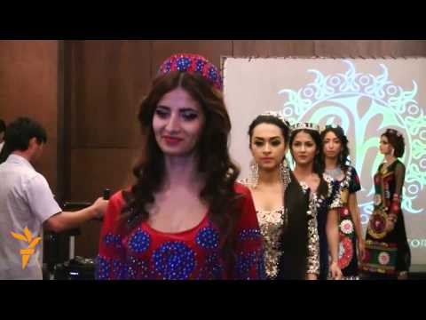 Tajik Fashion Week Showcases Home-Grown Styles