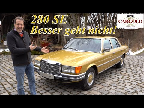 Mercedes S-class w116 official promotion video