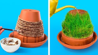 45 SMART WAYS to grow MINI GARDEN at home || Planting hacks from 5-minute magic
