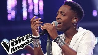 """L´Vincy canta """"Lost Without You"""" / The Voice Angola 2015 / Gala"""