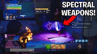 Scammer Gets Scammed For 'SPECTRAL' Weapons| Spectrolite Ore | Fortnite Save the World