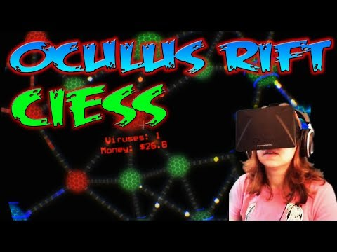 OCULUS RIFT : CIESS !!! (Virtual Reality Hacker Sim) by QELRIC