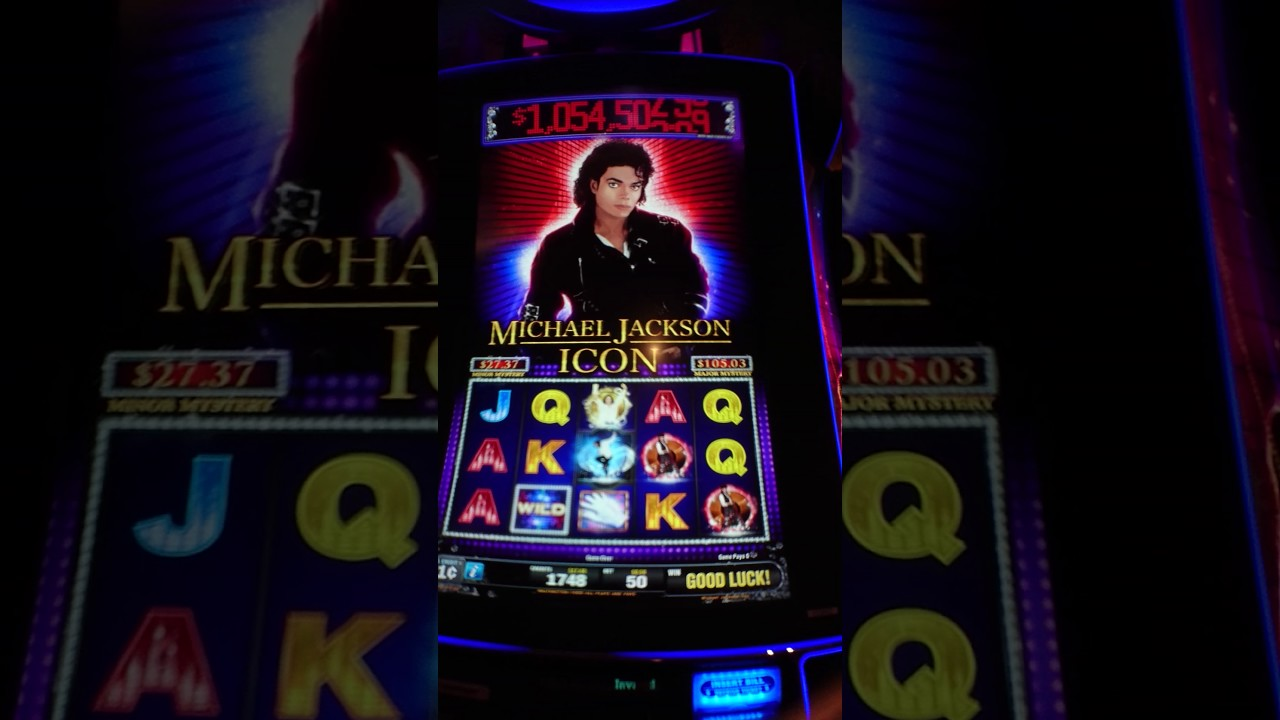 Micheal Jackson Slot Machine