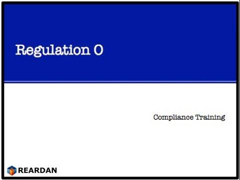 US Banking Regulation O - Training Video
