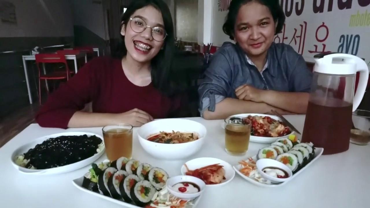 Review Makanan Korea Di Annyeong Cafe Youtube