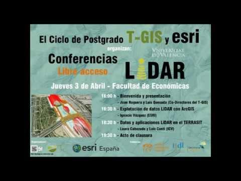 JORNADAS TGIS LIDAR