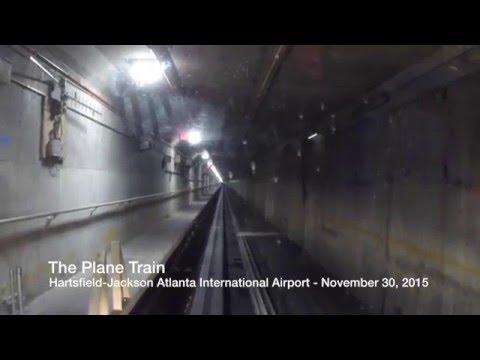 The Plane Train at Hartsfield-Jackson Atlanta International Airport - Full Ride