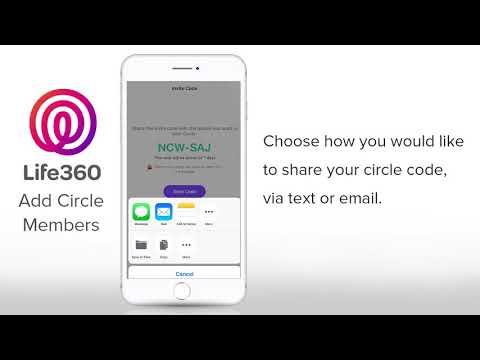 Life360 Tutorial: How to Add New Members to Your Circle