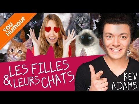 KEV ADAMS - Les filles et leur chat