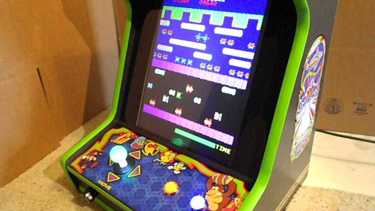 how to make a bar-top arcade