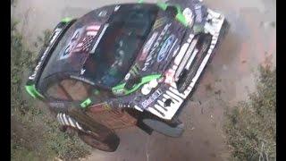 Incríveis acidentes de Rally!! Compilação! 2013