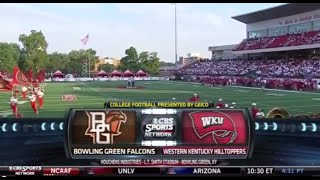 NCAAF: Bowling Green at Western Kentucky - August 29, 2014