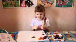 Учимся лепить из пластилина. Урок №2 Лепим композицию.