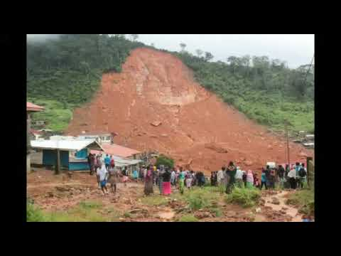 Sierra Leone Lawyer's take in on the mudslide