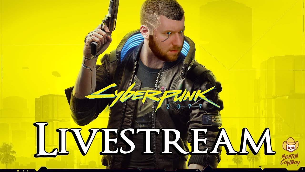 Cyberpunk 2077 - Livestream #1: Exploring Night City!