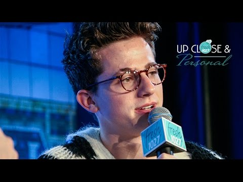 Charlie Puth Up Close & Personal