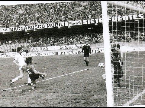 GIGI PIRAS: esordio e gol vincente (Cagliari-Fiorentina 1-0)