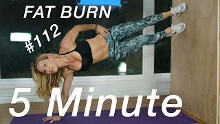 5 Minute Fat Burn #112 - BUTT & ABS