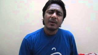 Asghar Khan Reciting Okha Ho Gaya At My Home