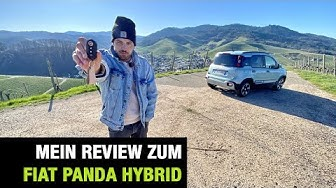 "2020 Fiat Panda Hybrid ""Launch Edition"" (70 PS) 🐼🔋 MHEV Fahrbericht 