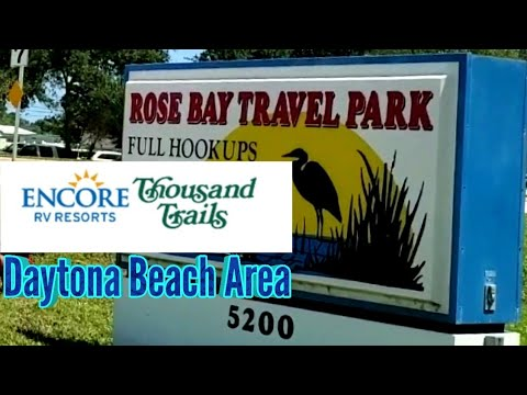 Rose Bay Travel Park | Thousand Trails Campground | Encore RV Resort In Daytona Beach Florida Area