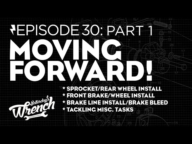 Saturdays Wrench Ep.30 pt1: Moving Forward - Honda CB350 Build