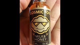 Cosmic Fog | Milk & Honey | E-Juice Review(, 2014-05-07T01:40:12.000Z)